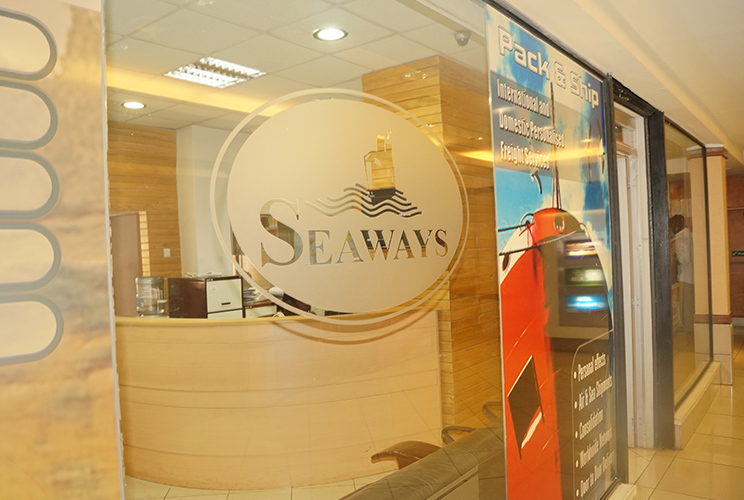 Seaways Logo and Office