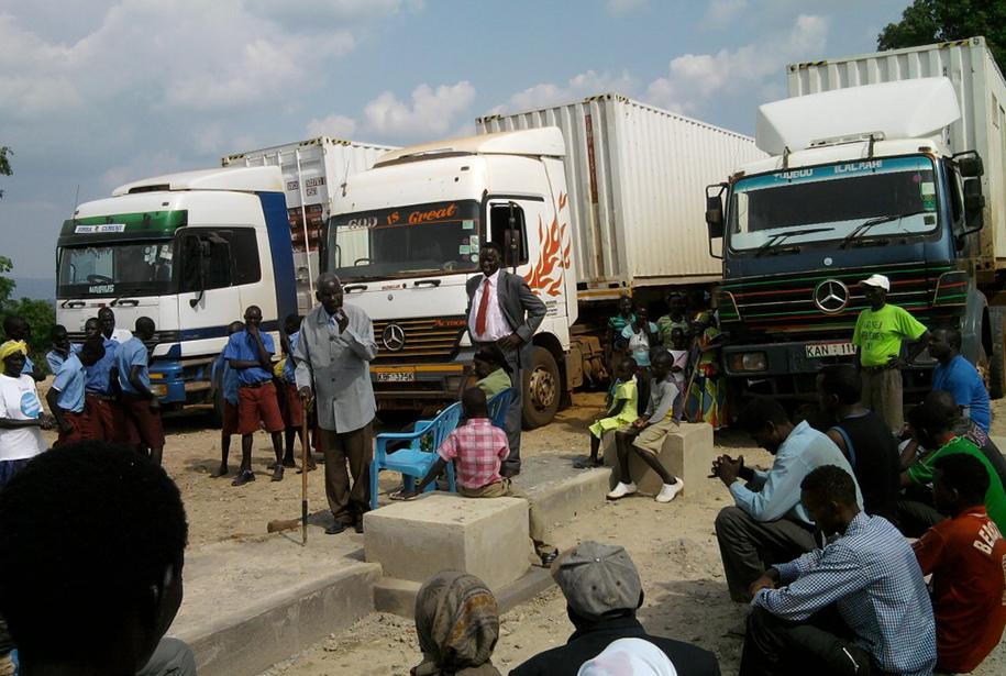 Mobile Clinincs in Kajo Keji South Sudan